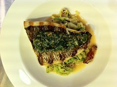 Floyd Cardoz of North End Grill, NYC - Grilled Sea Bream via http://india.blogs.nytimes.com/2012/02/08/floyd-cardozs-grilled-sea-bream/ #seafood #recipe