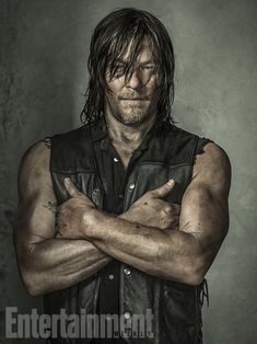 'The Walking Dead': Exclusive EW Portraits | Norman Reedus | EW.com