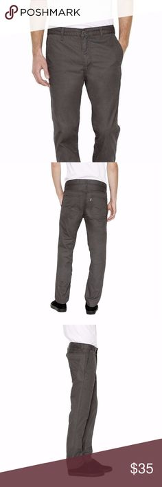 9edd133ea56c9a Levi s 511 SLIM TROUSER Men s Gray PANTS Sz 29x30 Levi s 511 SLIM TROUSER  Men s Gray PANTS