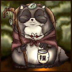 images of tanuki | Note from the Principal
