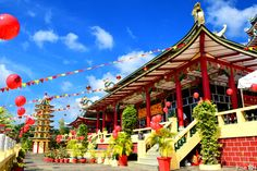 The Taoist Temple in Beverly Hills, Cebu City, Philippines