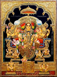 Online Art Store, Navratri Images, Lord Shiva Hd Images, Pooja Room Design, Lord Shiva Family, Ganesha Pictures, Tanjore Painting, God Pictures, Indian Gods