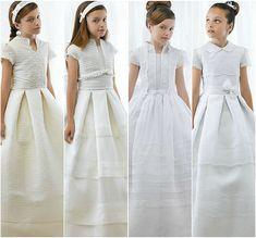 Los vestidos de Primera Comunión para niñas 2012