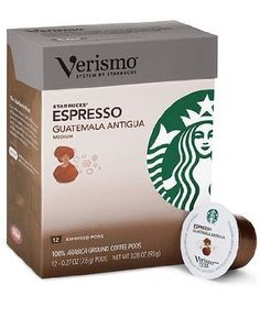 Starbucks Verismo Guatemala Espresso Roast- 36 Pods >>> To view further for this item, visit the image link.