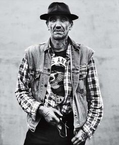 Hell's Angels Portraits - Andrew Shaylor Lenses Badass Bikers Across America (GALLERY)
