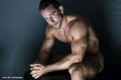 Hairy Jakub Bandoch Shirtless by Max-Art