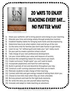 20 ways to enjoy teaching every day.pdf - Google Drive