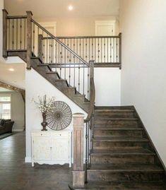 Asombrosos Disenos De Escaleras De Madera Rusticas Decoracion De - Escaleras-rusticas-de-interior