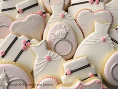 ♔Wedding Cookies