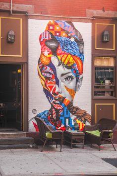 Art on Mulberry Street NYC - Graffiti