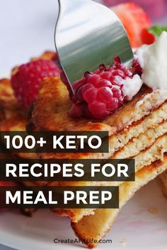 Simplify your life with keto meal prep ideas for every meal plus snacks and desserts. Simplify your life with keto meal prep ideas for every meal plus snacks and desserts. Low Carb Diet Plan, Low Carb Lunch, Low Carb Dinner Recipes, Low Carb Breakfast, Low Carb Desserts, Keto Recipes, Lunch Recipes, Breakfast Recipes, Breakfast Casserole