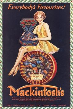 Mackintoshs Carnival Candies Toffee Halifax