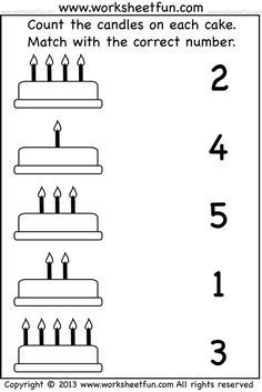 15 Best Images Of Matching Numbers 1 10 Worksheets - Math