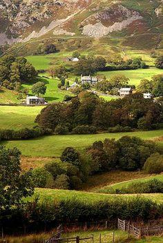 Little Langdale, Lake District, UK