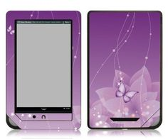 Bundle Monster Barnes & Noble Nook Color Nook Tablet eBook Vinyl Skin Cover Art Decal Sticker Accessories - Lavender Butterfly - Fits both Nook Color and Nook Tablet (Released Nov. 7, 2011) Devices by Bundle Monster. $9.99. This design skin set helps protect and stylize your ebook Barnes & Noble Nook Color and Nook Tablet only. This skin will not fit the older generation Black and White Nook or the Nook Touch. Skins are made up of a superb vinyl material that ...