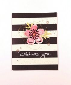 Love playing with these Botanical Gardens from Stampin'up. All papers and sentiment from Stampin'up.