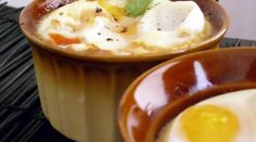 Baked Eggs with Tomatoes & Peppers