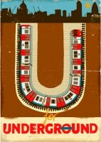 underground - i love this alphabet!