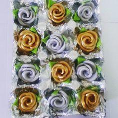Rosas en Fondant