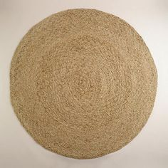 One of my favorite discoveries at WorldMarket.com: Round Natural Braided Jute Rug
