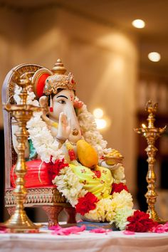 Lord ganesha is also known as the remove the obstacles. He is one to pray to before starting any new endeavor.Workship lord ganesha on tamil new year to remove the darkness of ignorance and to get high enlightenment. Shri Ganesh Images, Ganesh Chaturthi Images, Ganesha Pictures, Happy Ganesh Chaturthi, Jai Ganesh, Ganesh Lord, Ganesh Idol, Shree Ganesh, Lord Shiva