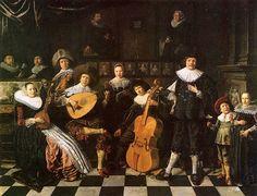 Jan Miense Molenaer (Dutch, 1610-1668) - Family making music