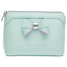 39053800a999d6 Buy Ted Baker Harloe Bow Makeup Bag Online at johnlewis.com  buybagsonline Ted  Baker