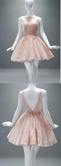 Charming Prom Dress,Lace Prom Dress,Short Prom Dresses,Cute Party