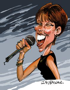 Pat Benatar  (By Ian Baker)love it and her she is the greatest!!