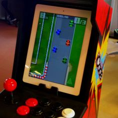 iCade and iPad with Retro Racing