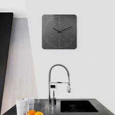 Edge Wall Clock by WEEW Smart Design designed in Italy #MONOQI