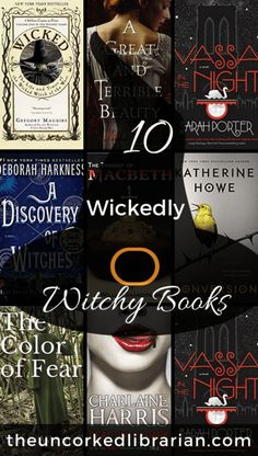 Are you looking for books about witches? Check out this book list with 10 wickedly witchy books for adults and young adults. Best Books To Read, Ya Books, Book Club Books, I Love Books, Book Nerd, Book Lists, Good Books, Reading Lists, Reading Nook