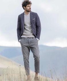 Juan Betancourt stars in Eleventy's spring-summer 2018 campaign.