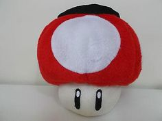 493a1c2ab1c Red Mushroom Rock Climbing Chalk Bag made from a child s plush toy Super  Mario - Awesome