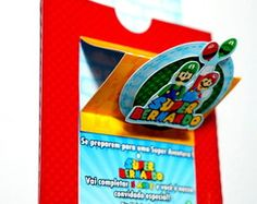 Convite Super Mario PopUp (3D)