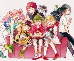 Pokemon Vs Digimon, Cyber Sleuth, Manga Anime, Anime Art, Fanart, Digimon Tamers, Monster S, Best Games, Me Me Me Anime