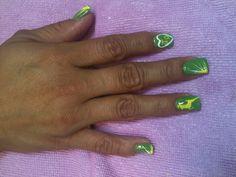 John Deere nails By Kristi Owens At Astonish salon Midland tx