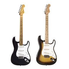 Eric Clapton's guitars - Blackie and Brownie