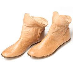 Gaucho Boots Womens Nude, $209, now featured on Fab.