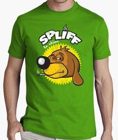 T-shirt Spliff le chien En vente chez tostadora : http://www.tostadora.fr/patrol/spliff_le_chien/928681