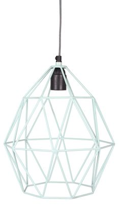Wire Hanglamp Mint