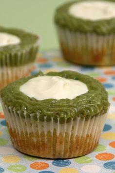 Avocado Lime Cupcakes
