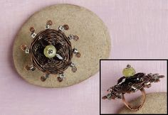 learn to make the Sombrero Ring by Sharilyn Miller - Beautiful, Affordable Handmade Holiday Gifts to Suit All Styles: 6 Reasons to Make Copper Jewelry