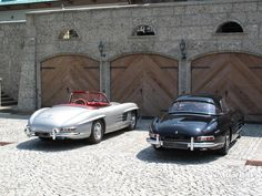 Collector Cars by Cargold - The finest Sportscars & Prewar, Rosenheim Beuerberg Munich Mercedes 300, Super Cars, Classic Cars, Nostalgia, Garage, History, Carport Garage, Historia, Vintage Classic Cars