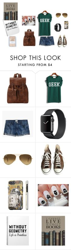 """""""#7"""" by misskotte on Polyvore featuring J.Crew, Ray-Ban and Converse"""