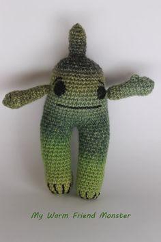 Fantasy Monsters  Amigurumi Monsters  Crochet Toy by MyWarmFriends, €12.00