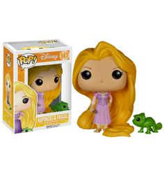Tangled Rapunzel and Pascal Pop! Vinyl - Main Image