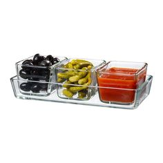 $9.99 MIXTUR Oven/serving dish, set of 4 IKEA
