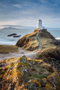 Llanddwyn, Anglesey  Ynys Llanddwyn or Llanddwyn Island is a small tidal island off the west coast of Anglesey, northwest Wales. The nearest town is Newborough.