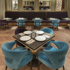 If you ever visit St. Petersburg, don't forget to visit COCOCO restaurant where you can not only experience haute cuisine but see some #BRABBU's pieces live like NANOOK and ZULU #diningchairs! What is your favorite?👌  #interiors #interiordesign #restaurantinteriors #restaurantdesign #upholstery #modernchairs #velvetchair #diningroom #diningrooms #diningroomdesign #diningroomdecor #diningroomchairs #diningchair